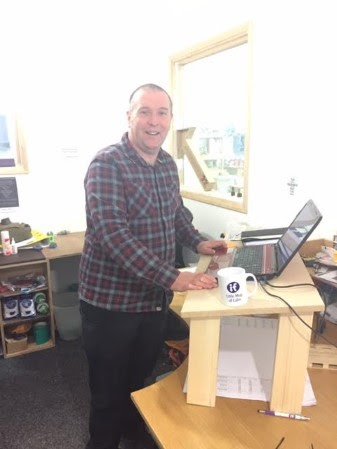 Standing Desk, John Hinton