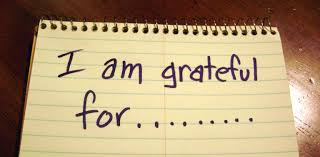 Gratitude – noting what went well